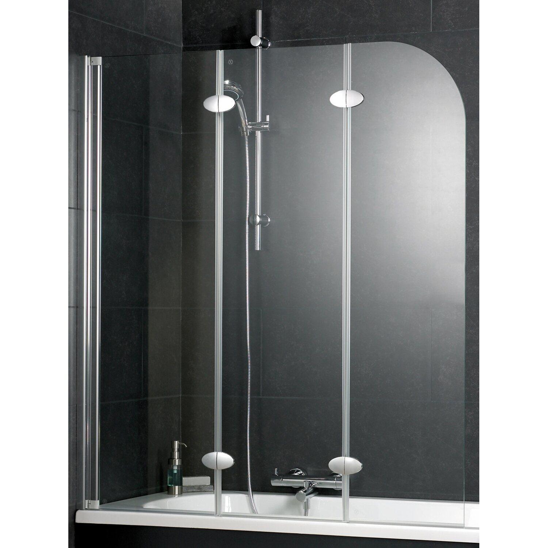 interpromo badewannenaufsatz 3 teilig alpinwei esg klar kaufen bei obi. Black Bedroom Furniture Sets. Home Design Ideas
