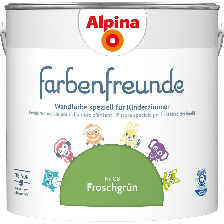 Alpina  Farbenfreunde Froschgrün seidenmatt 2,5 l