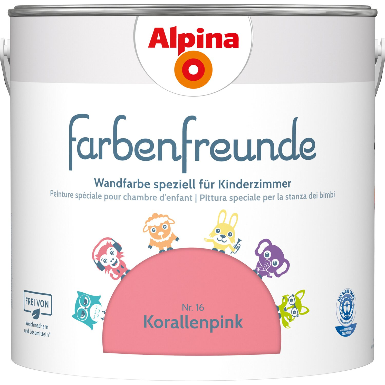 Alpina Farbenfreunde Korallenpink Seidenmatt2 5 L Kaufen Bei Obi