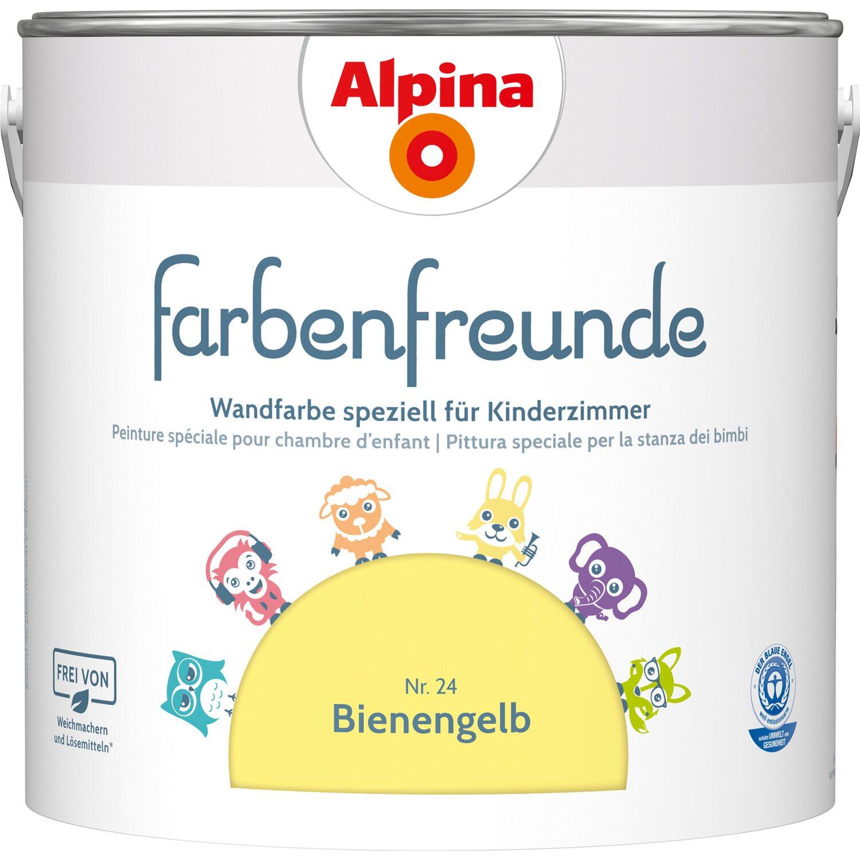 Alpina  Farbenfreunde Bienengelb seidenmatt 2,5 l