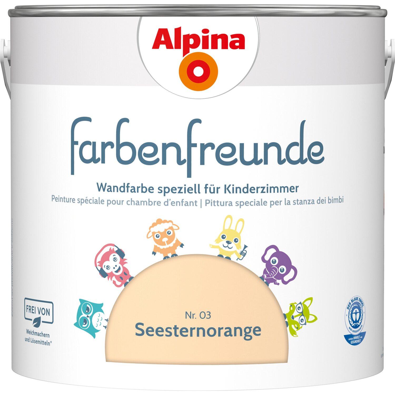 Alpina  Farbenfreunde Seesternorange seidenmatt 2,5 l