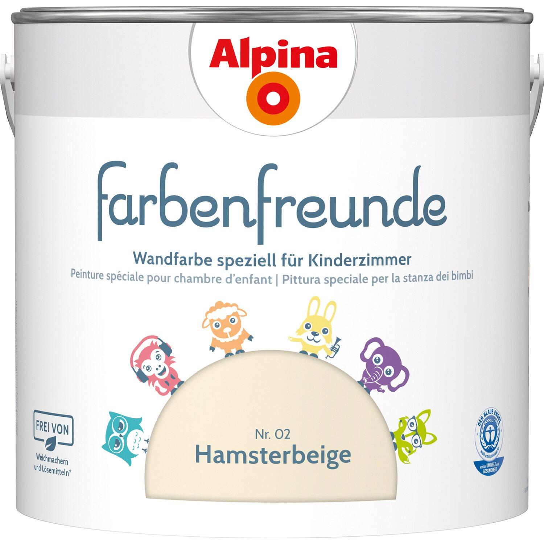 Alpina  Farbenfreunde Hamsterbeige seidenmatt 2,5 l