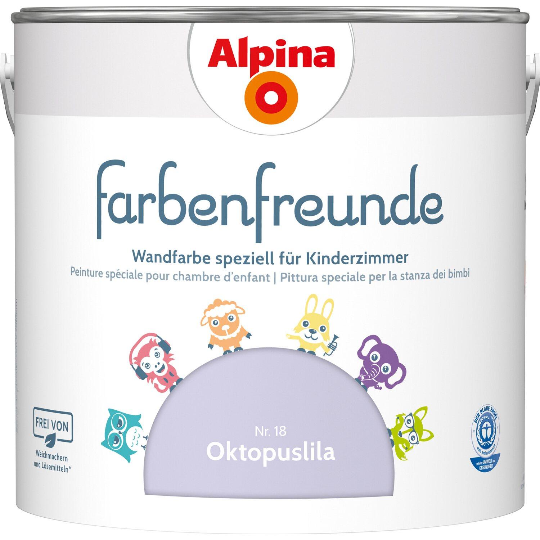 Alpina  Farbenfreunde Oktopuslila seidenmatt 2,5 l