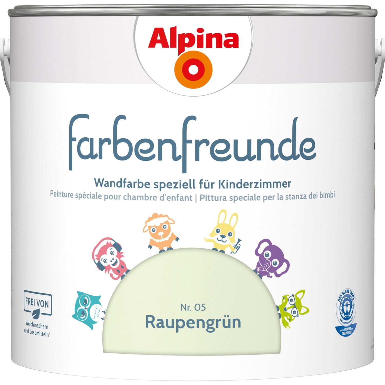 Alpina  Farbenfreunde Raupengrün seidenmatt 2,5 l