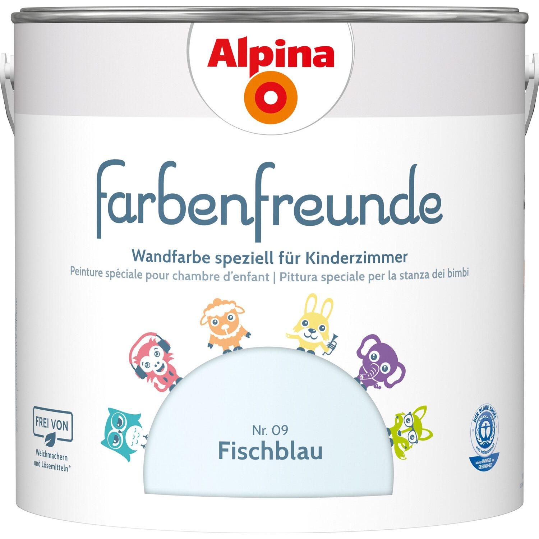 Alpina  Farbenfreunde Fischblau seidenmatt 2,5 l