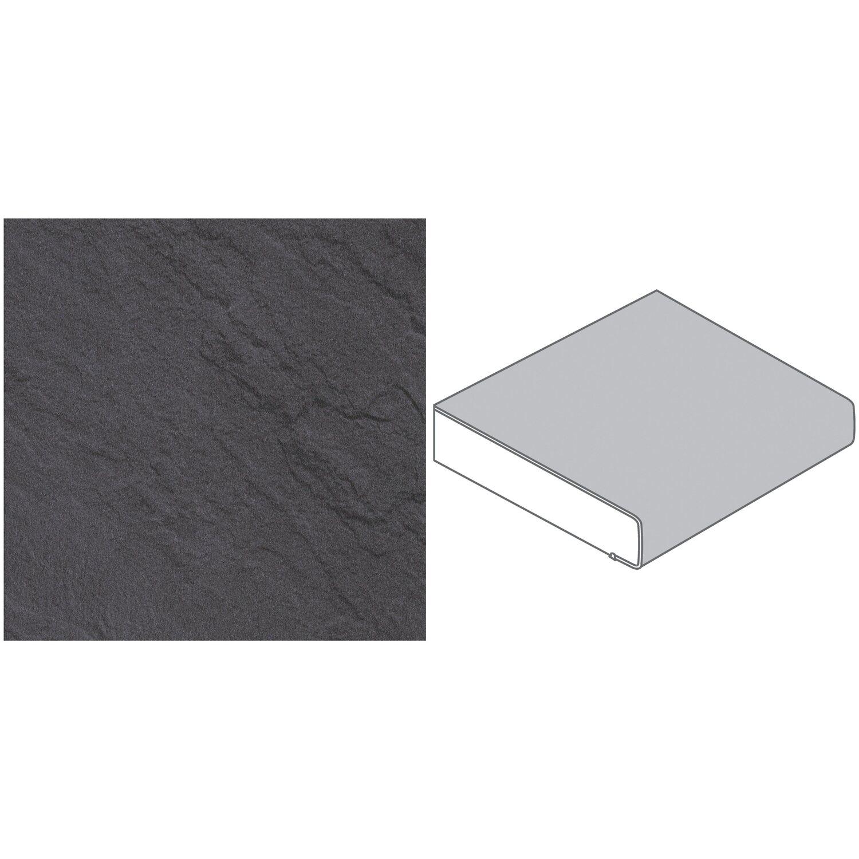 arbeitsplatte 65 cm x 3 9 cm schiefer dunkel sc134pe kaufen bei obi. Black Bedroom Furniture Sets. Home Design Ideas