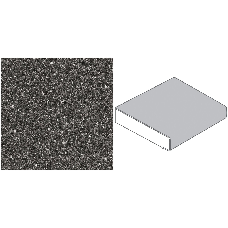 arbeitsplatte 65 cm x 3 9 cm stein schwarz wei st12c kaufen bei obi. Black Bedroom Furniture Sets. Home Design Ideas