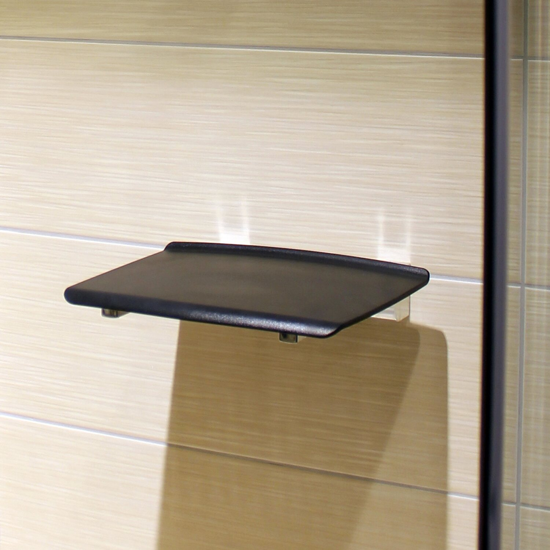 Tiger Design Duschklappsitz Boston Comfort & Safety Chrom Anthrazit ...