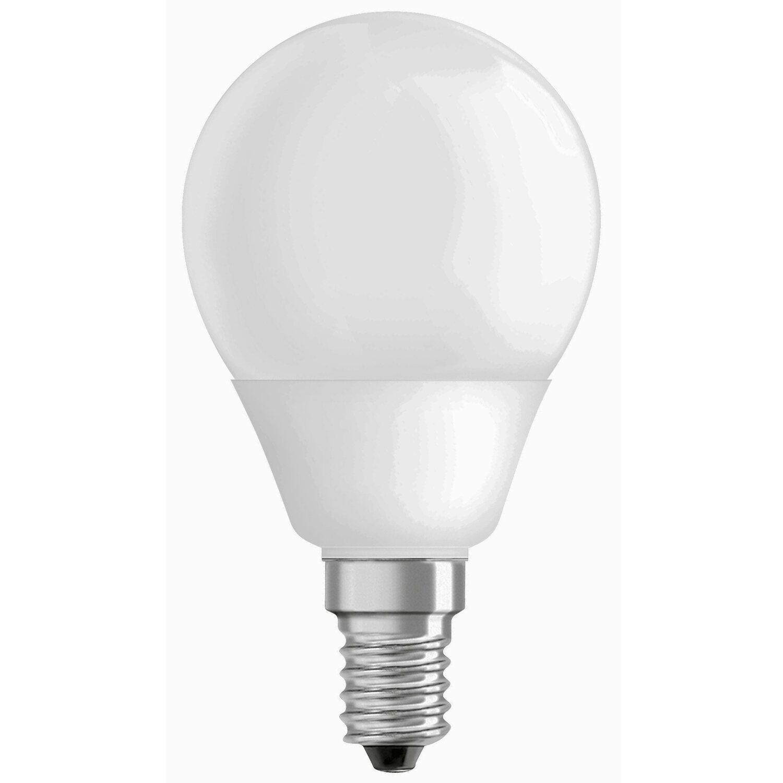 Osram Energiesparlampe Tropfenform E14 / 9 W (4...