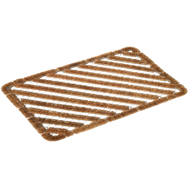ASTRA -Kollektion Fußmatte Kokos-Drahtgitter Coco Brush 40 cm x 60 cm