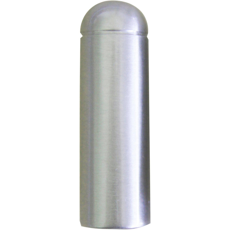 Zierhülse Ø 15 mm Edelstahlfärbig