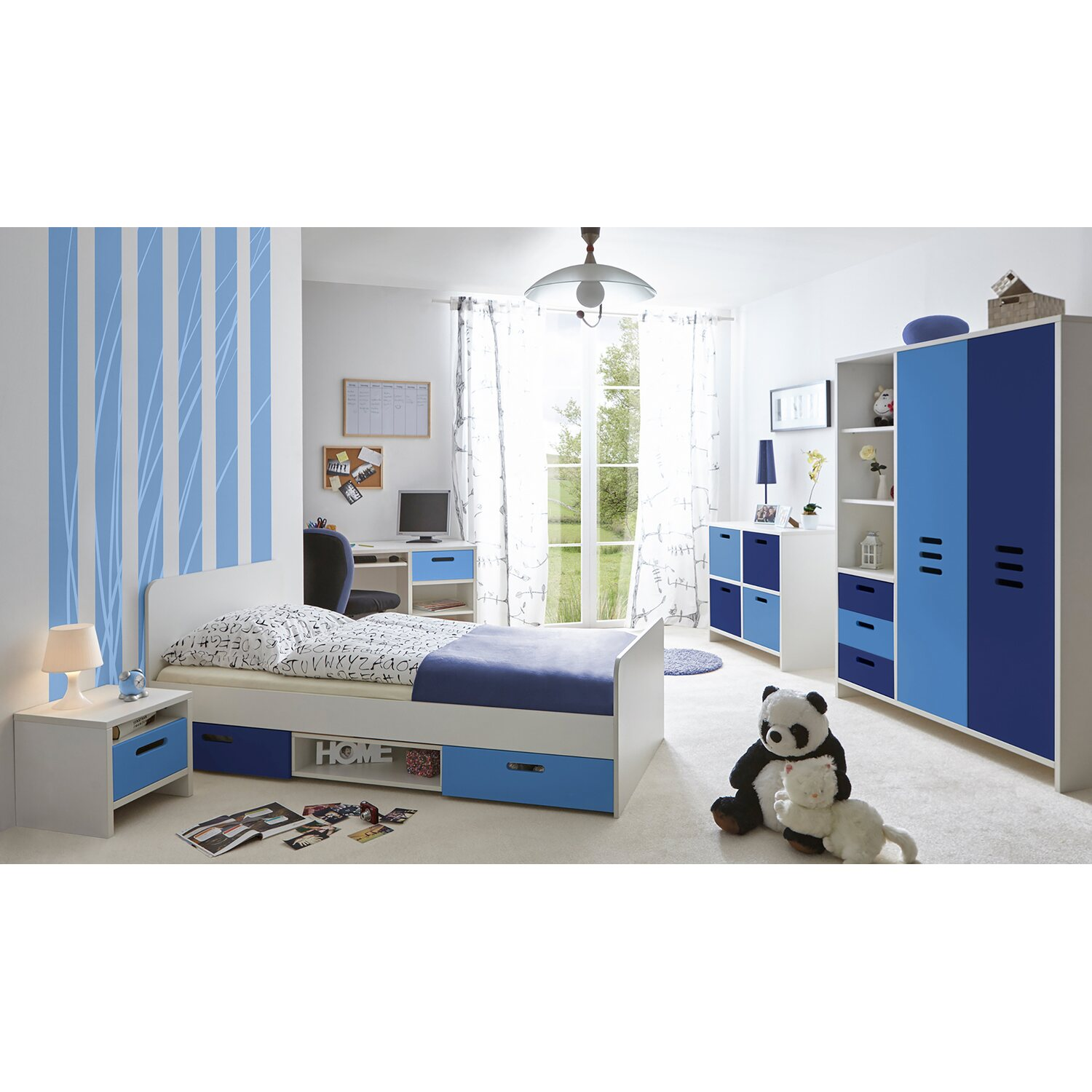 komplett kinderzimmer jugendzimmer online kaufen bei obi. Black Bedroom Furniture Sets. Home Design Ideas