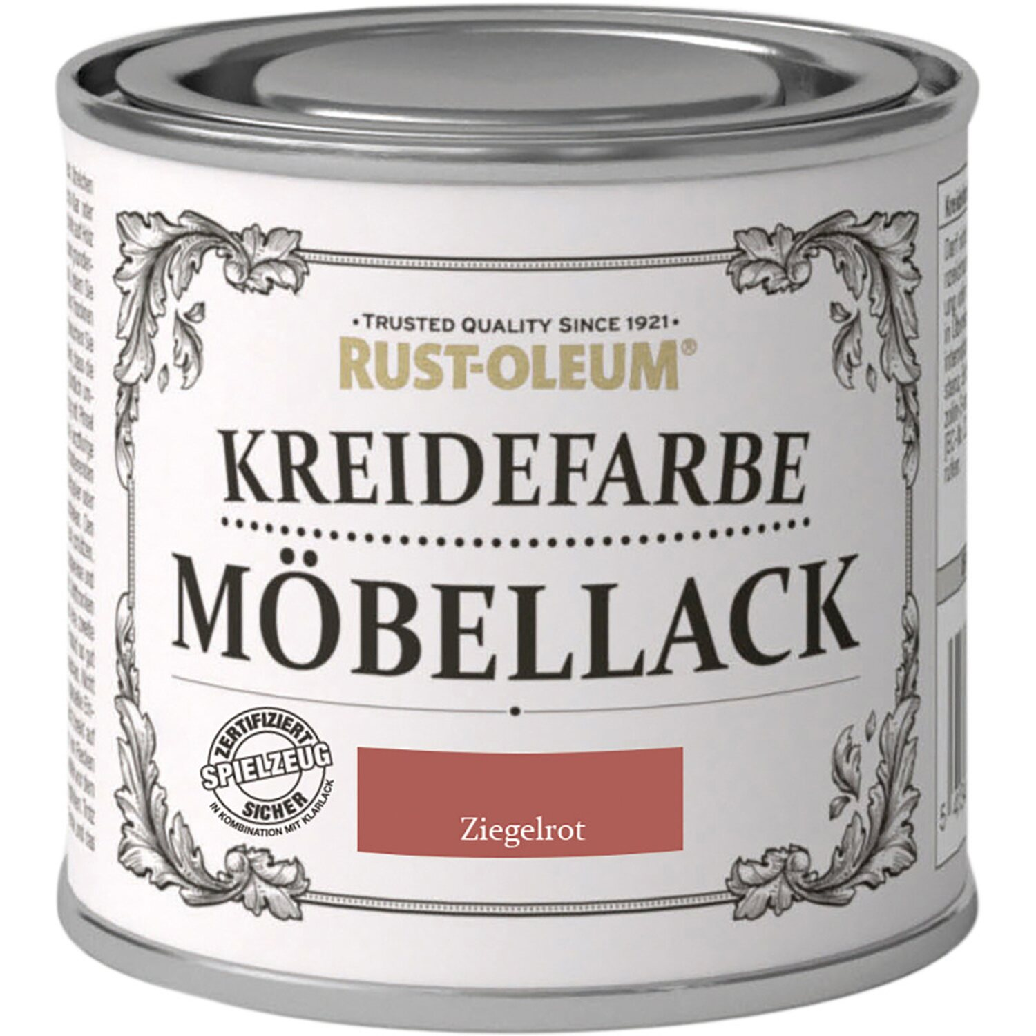 rust oleum m bellack kreidefarbe ziegelrot matt 125 ml. Black Bedroom Furniture Sets. Home Design Ideas