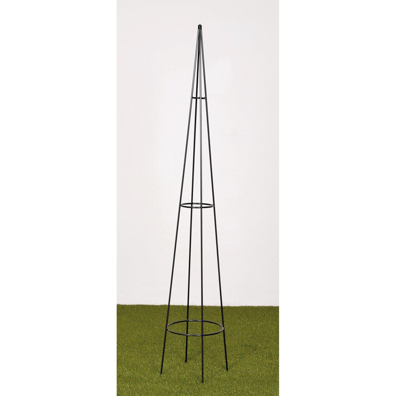Takasho Rankobelisk Morel Ø 25 cm x 150 cm Anthrazit-Metallic kaufen ...