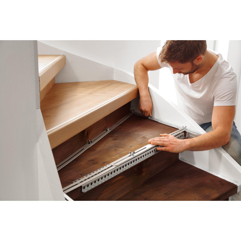 moderna scala treppenschablone aluschiene kaufen bei obi. Black Bedroom Furniture Sets. Home Design Ideas