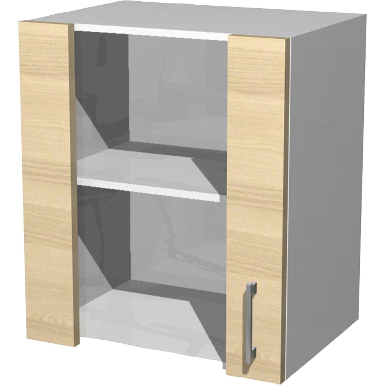 flex well exclusiv glas h ngeschrank akazia 50 cm akazie kaufen bei obi. Black Bedroom Furniture Sets. Home Design Ideas