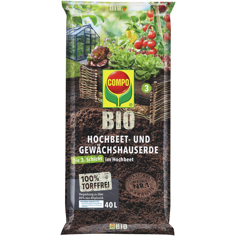 Compo  Bio Hochbeet-Erde 1 x 40 l
