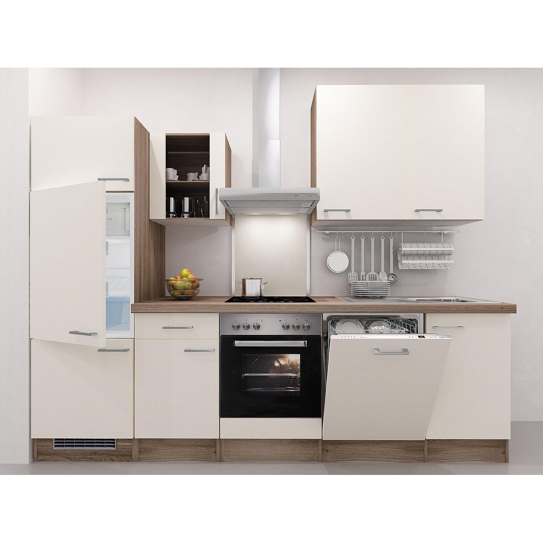 flex well exclusiv k chenzeile eico 280 cm magnolienwei tennessee eiche kaufen bei obi. Black Bedroom Furniture Sets. Home Design Ideas