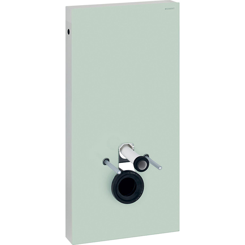Geberit Sanitärmodul Monolith für Wand-WC 101 cm Glas Mint kaufen ...