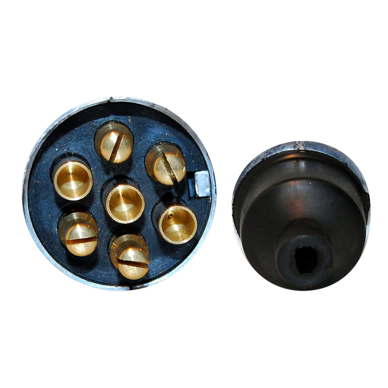 LAS 7-poliger Metall-Stecker für PKW Anhänger kaufen bei OBI