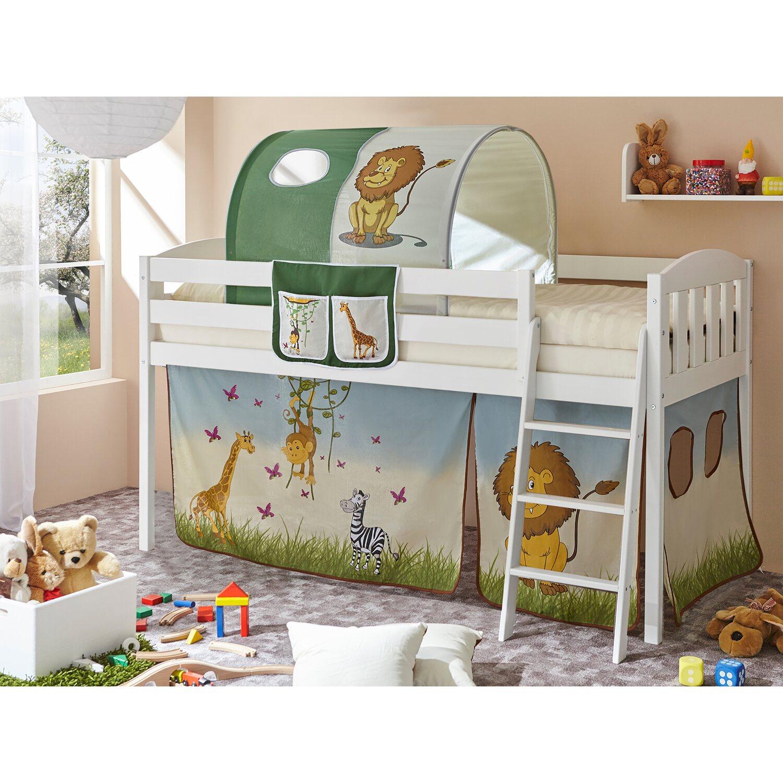 ticaa hochbett eric v kiefer wei safari kaufen bei obi. Black Bedroom Furniture Sets. Home Design Ideas