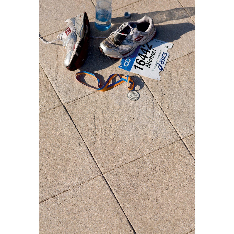 Terrassenplatte Leverano Beton Sand 40 Cm X 40 Cm X 4 Cm Kaufen Bei Obi