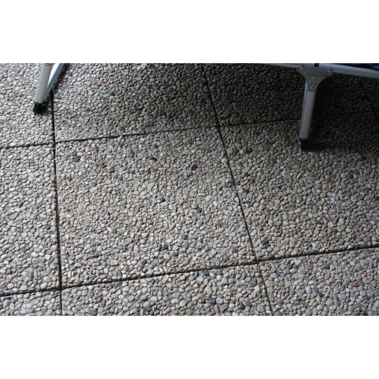 Waschbetonplatten Kaufen waschbetonplatte buntkies 40 cm x 40 cm x 4 cm kaufen bei obi