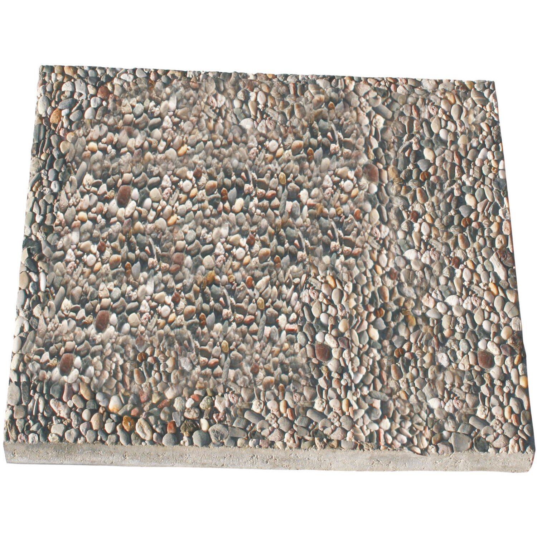 Waschbetonplatten Kaufen waschbetonplatten rundkorn 50 cm x 25 cm x 4 cm kaufen bei obi