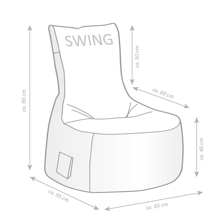Sitting Point Sitzsack Swing Scuba 300 L Anthrazit Kaufen Bei Obi