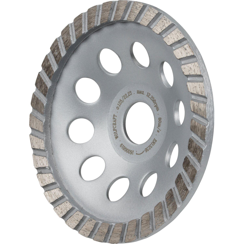 Wolfcraft Diamant-Schleiftopf Standard Ø 125 mm