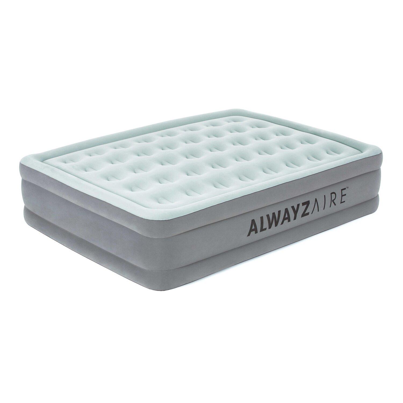 AlwayzAire Basic Luftbett mit eingeb. E-Pumpe 203x152x46cm   Schlafzimmer > Betten > Luftbetten   Bestway
