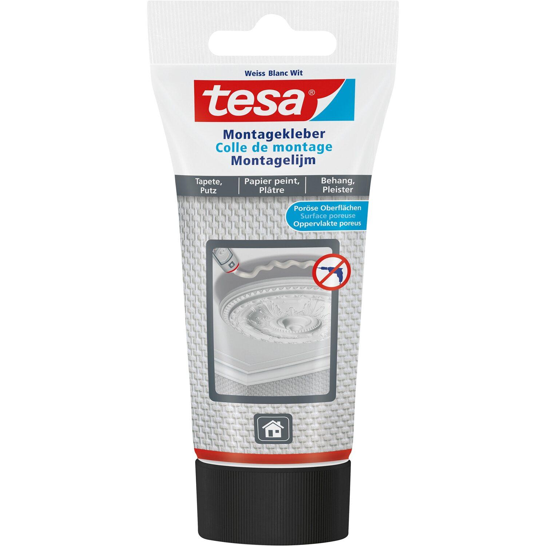 Tesa Montagekleber für Tapeten und Putz 150 g