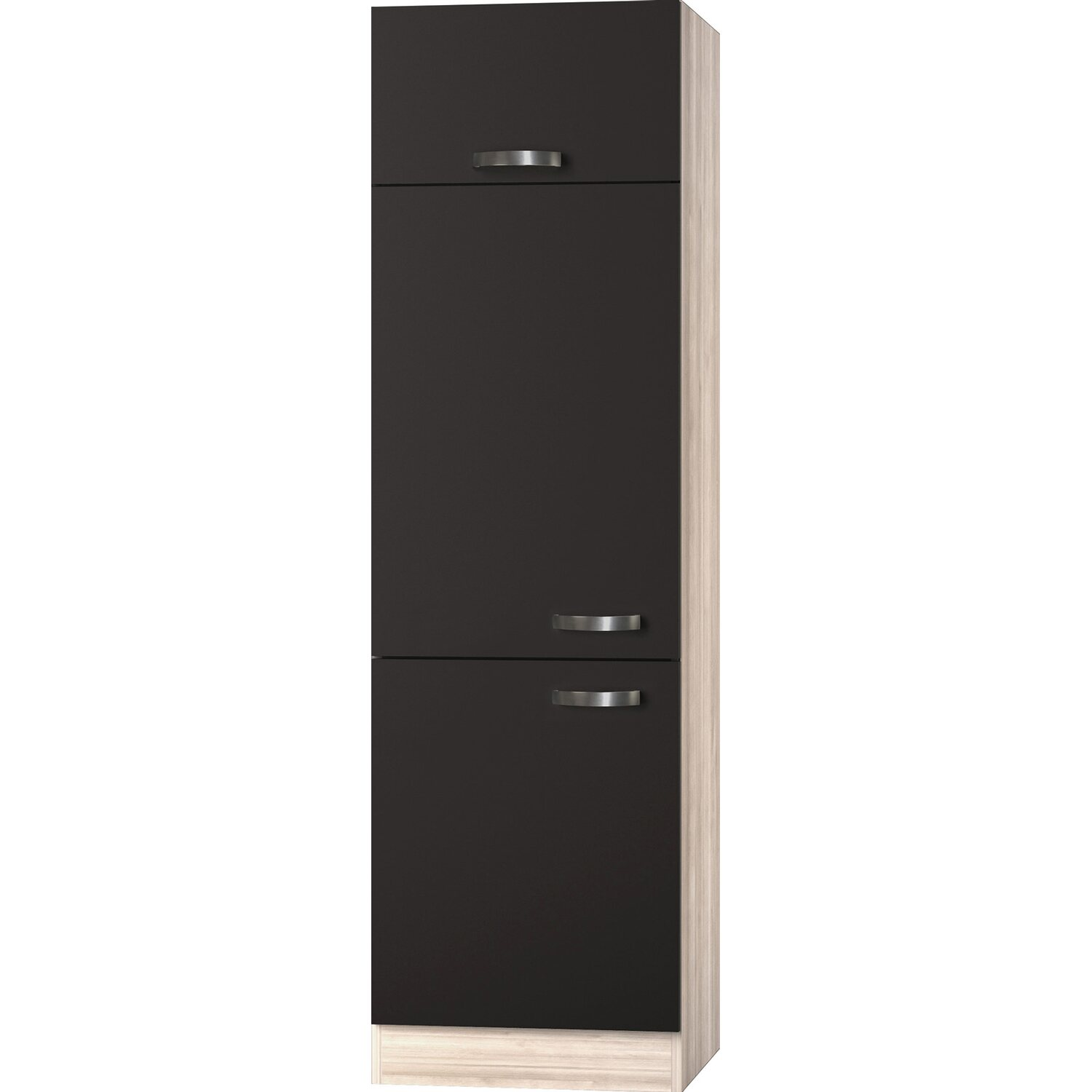 optifit hochschrank f r integrierbaren k hlschrank optikult faro 60 cm kaufen bei obi. Black Bedroom Furniture Sets. Home Design Ideas