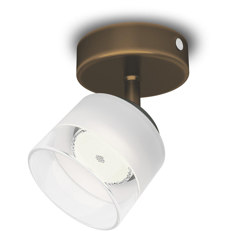 Philips LED-Spot 1er Fremont Bronze EEK: A++