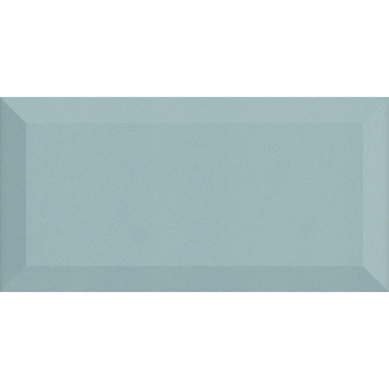 Sonstige Wandfliese Metro Grau Facette 10 cm x 20 cm