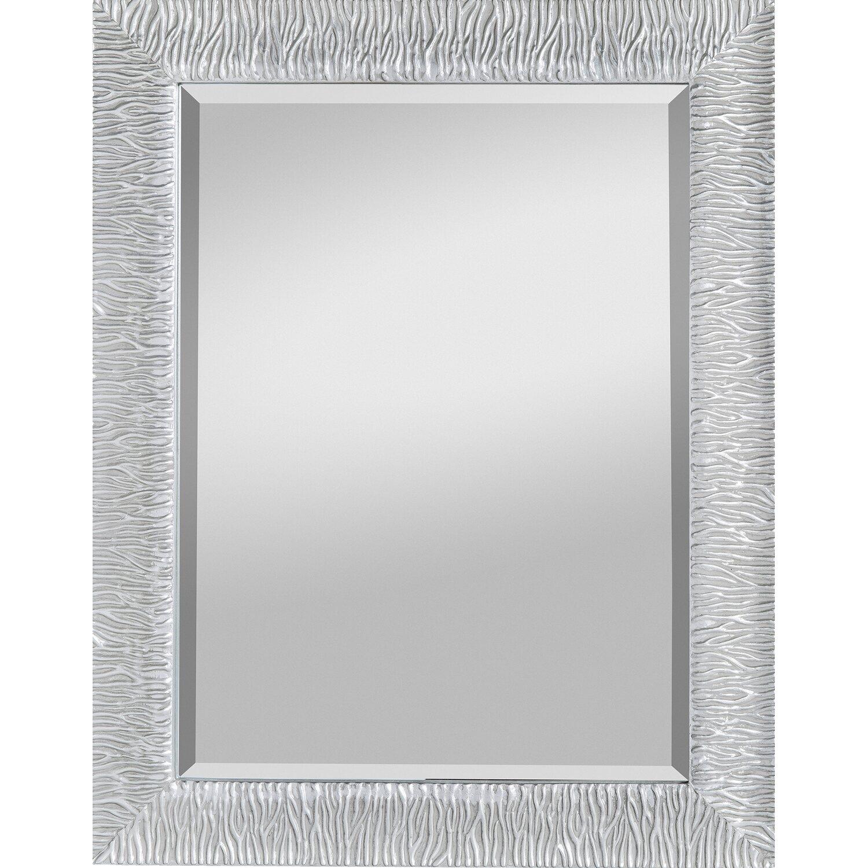 rahmenspiegel zara 55 cm x 70 cm mit facette silber kaufen bei obi. Black Bedroom Furniture Sets. Home Design Ideas