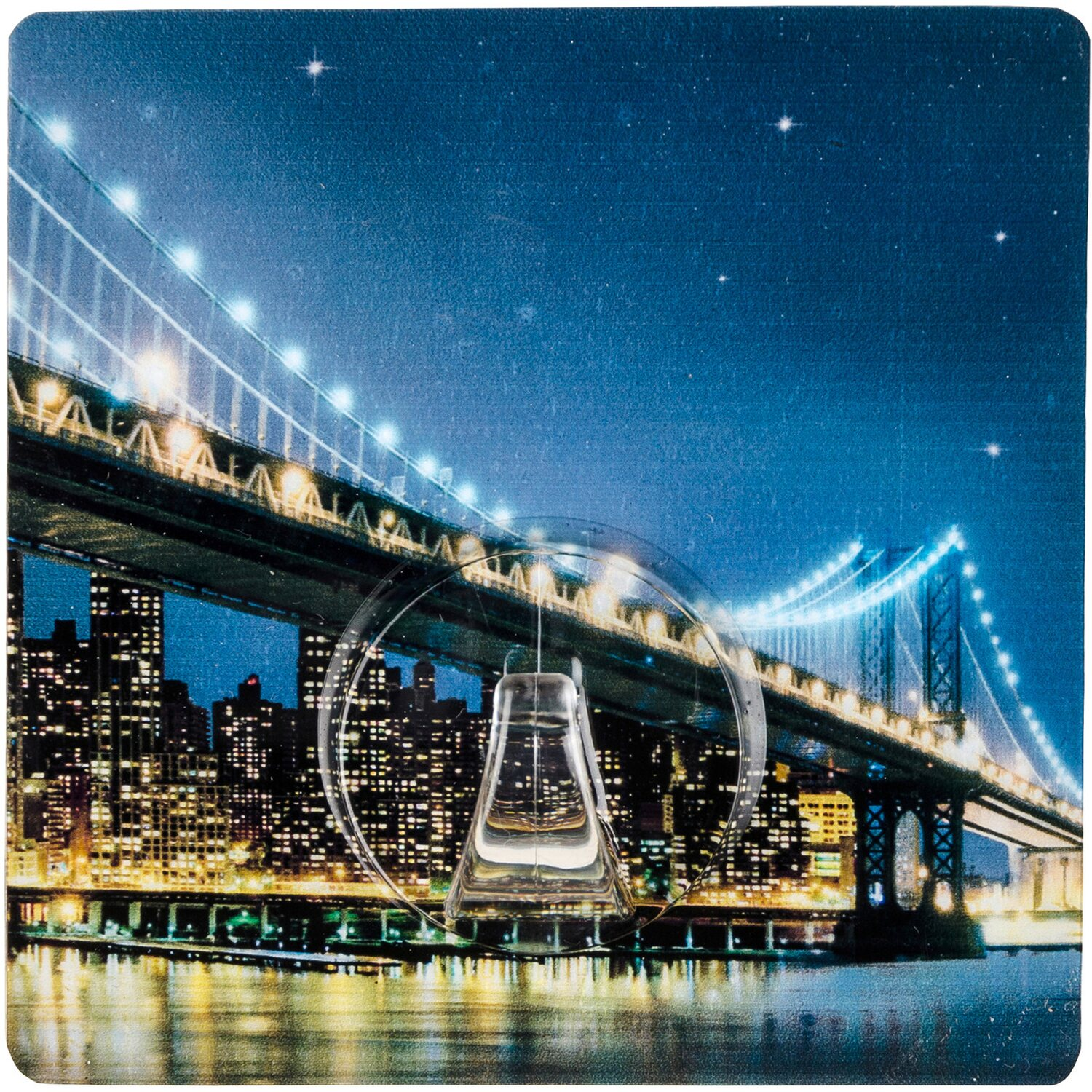 Wenko Static-Loc Wandhaken Uno Brooklyn Bridge kaufen bei OBI