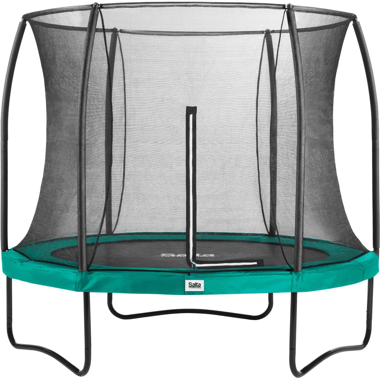 Salta Trampolin Comfort Edition Ø 213 cm Grün | Kinderzimmer > Spielzeuge > Trampoline | Grün | Salta