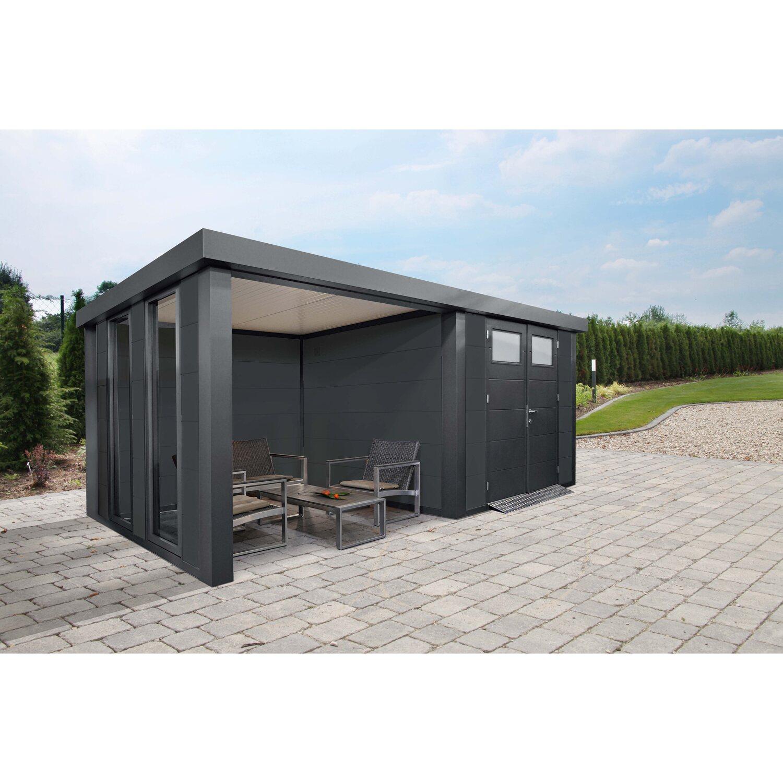 Wolff Finnhaus Metall Gartenhaus Eleganto 2724 Lounge Links Lichtgrau 552 X 238 Kaufen Bei Obi