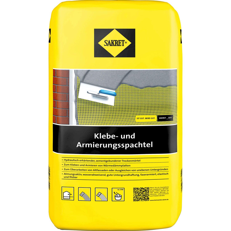 Sakret  WDVS Klebe- und Armierungsspachtel Grau 10 kg
