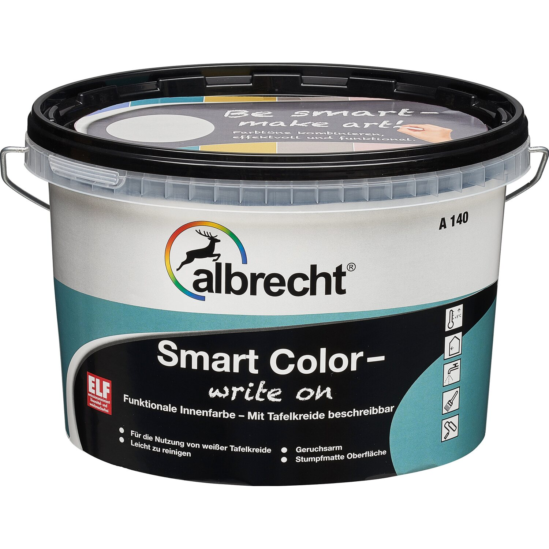 Albrecht  Smart Color - write on Türkis stumpfmatt 2,5 l