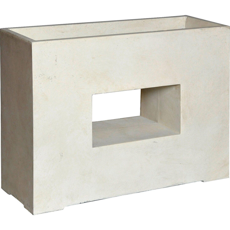 m collections pflanzkasten partition window 75 cm x 27 cm sand kaufen bei obi. Black Bedroom Furniture Sets. Home Design Ideas