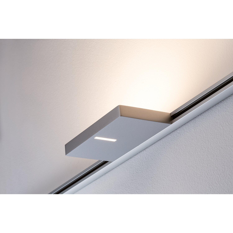 paulmann urail led spot eek a a uplight case 16 w chrom matt kaufen bei obi. Black Bedroom Furniture Sets. Home Design Ideas