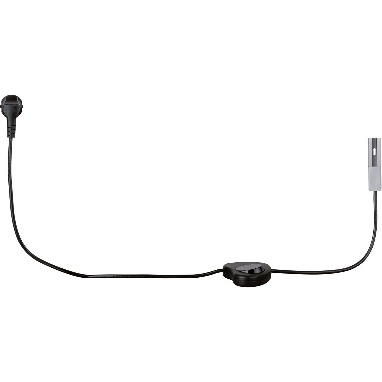 paulmann urail light easy einspeisung mit kabel chrom matt. Black Bedroom Furniture Sets. Home Design Ideas