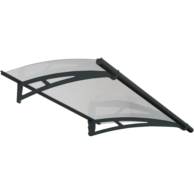 Palram Vordach Aquila 150 cm Anthrazit   Baumarkt > Modernisieren und Baün > Vordächer   Palram