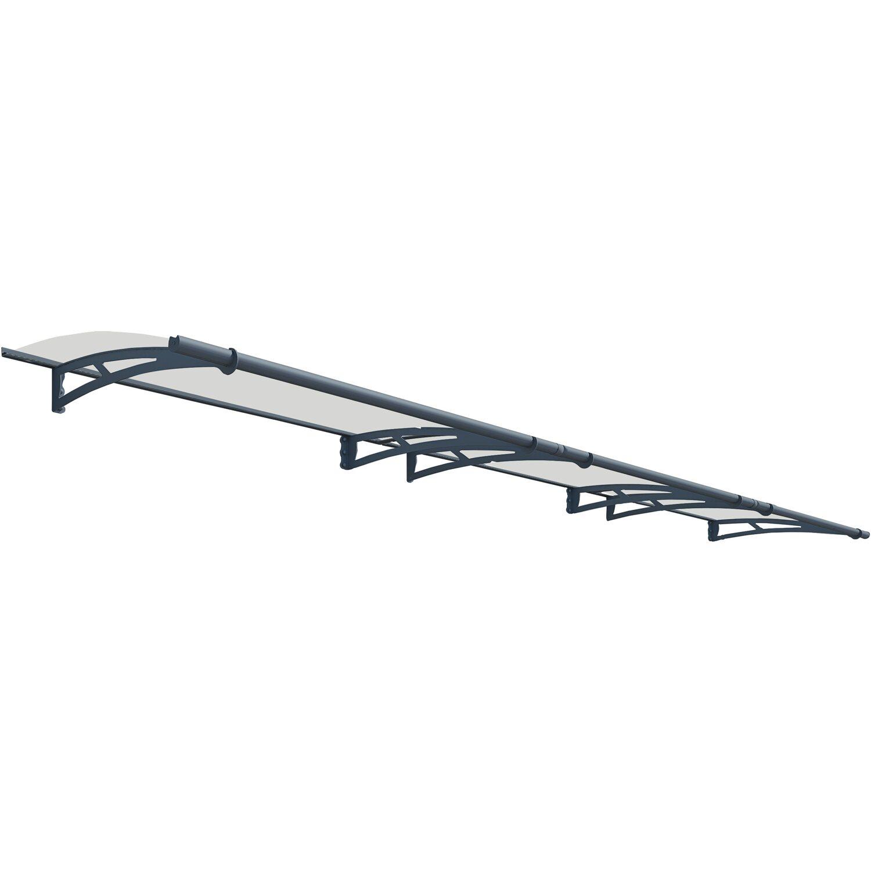 Palram Vordach Aquila 453 cm Anthrazit   Baumarkt > Modernisieren und Baün > Vordächer   Palram
