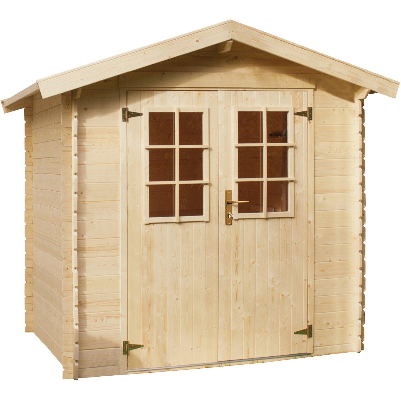 Holz Gartenhaus Kh 19 009 Bxt 180x150 Cm Kaufen Bei Obi