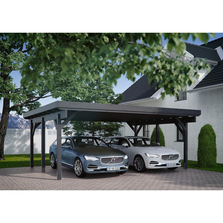 Kiehn-Holz Doppelcarport KH 311 BxT: 634 x 504 cm | Baumarkt > Garagen und Carports | Holz - Fichte | Kiehn-Holz