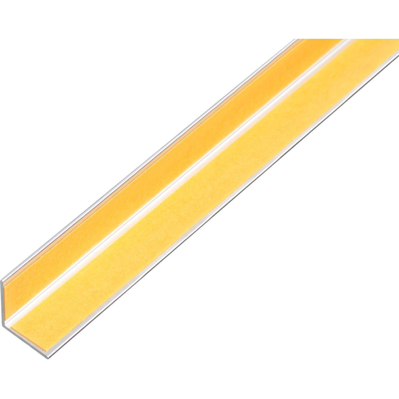 Winkelprofil Selbstklebend Gleichschenklig Alu Edelstahldesign Hell 10 Mm X 10 M Kaufen Bei Obi