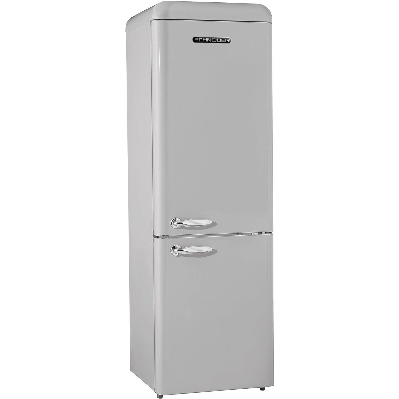 Schneider Kühl-Gefrierkombination SCB 300V2 S Silber glänzend EEK A++ | Küche und Esszimmer > Küchenelektrogeräte > Kühl-Gefrierkombis | Schneider